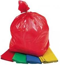 Coloured Bin bags